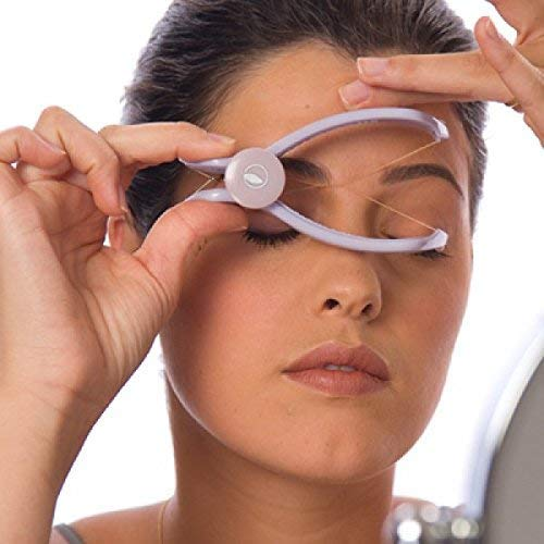 Tartefyam Slique Eyebrow Face and Body Hair Threading Removal Epilator System Kit