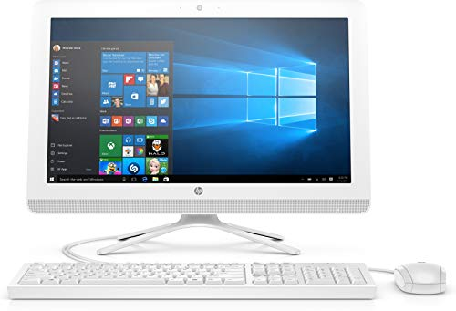 HP 22-b412in 21.5-inch All-in-One Desktop (Core i3/8 GB/1TB HDD/Windows 10/Intel HD Graphics), Snow White