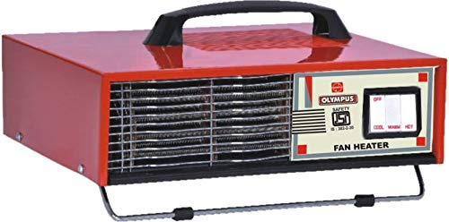 Olympus 2000 Watts OFH Room Heater Red