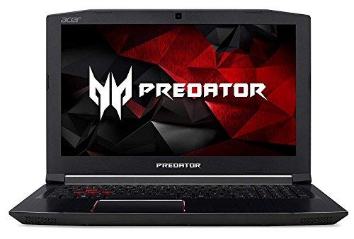 Acer 2018 Predator Helios 300 Flagship High Performance 15.6 Inches FHD Backlit Keyboard Gaming Laptop PC with (Intel Quad Core i7-7700HQ , NVIDIA GeForce GTX 1060, 16GB DDR4, 512GB SSD, Windows 10)