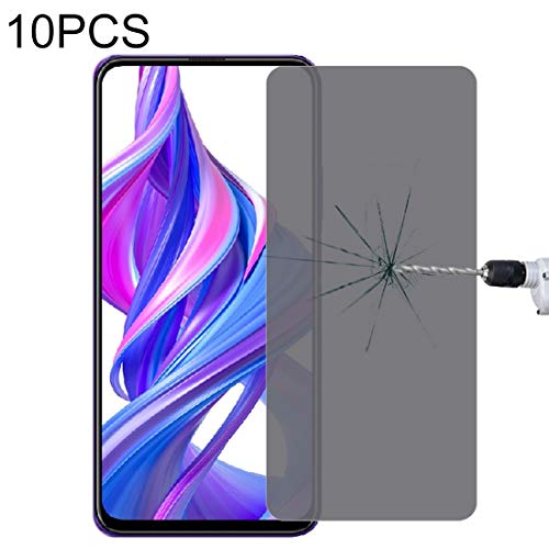 LIUDSASSBFQINGR Screen Protectors for Huawei Honor 9X 10 PCS 9H Surface Hardness 180 Degree Privacy Anti Glare Screen Protector Cell Phones Accessories