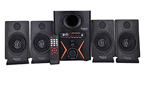 Spice Home Theater Model 4.1 Multimedia Home Theater System with AUX,USB & FM & Bluetooth.(Black)