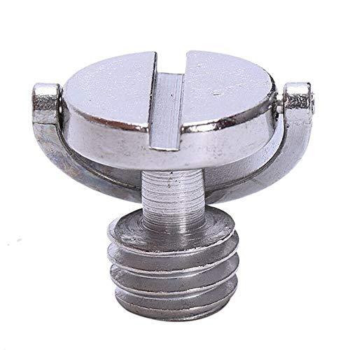 ELECTROPRIME 10X(Longer Shaft D-Ring Screw 3/8 inch-16 Thread Camera Tripod Quick Releas Y2R4