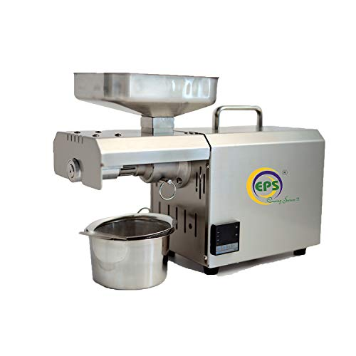 EPS WITH WORD CARING SUTURE !!! EPS TC 602 600W Stainless Steel Automatic Oil Press Machine with Temperature Controller