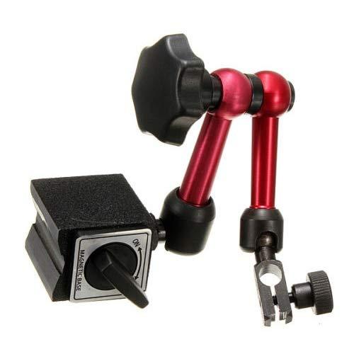 Generic Adjustable Magnetic Gauge Stand Base Holder Digital Level Dial Test Indicator (The Indicator is not Included)