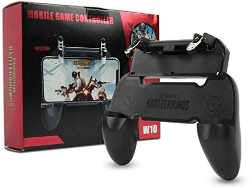 Nory Mobile Phone Game Controller Gamepad Joystick Fire Trigger for PUBG Fortnite Gaming Accessory Kit (Black, for Android, iOS)