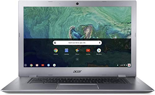 "Acer Chromebook 15.6"" IPS Touchscreen Full HD Intel Celeron N3350 1.10 GHz 4GB LPDDR4 32GB Flash Memory HDR Webcam Chrome OS"