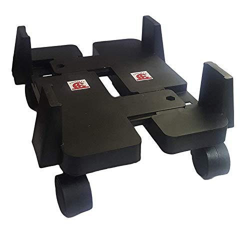 Cyrox Heavy Duty CPU Trolley CPU Stand Computer Accessories | CPU Stand CPU Holder Trolley Computer Desktop ATX CPU Steel Rolling Stand