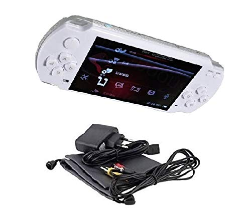Medaline White PSP gaming console with Music, Alarm, videos MD_067
