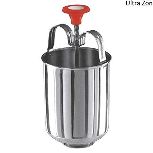 Ultra Zon Stainless Steel Non-Stick Meduvada Maker (26x26x5cm)