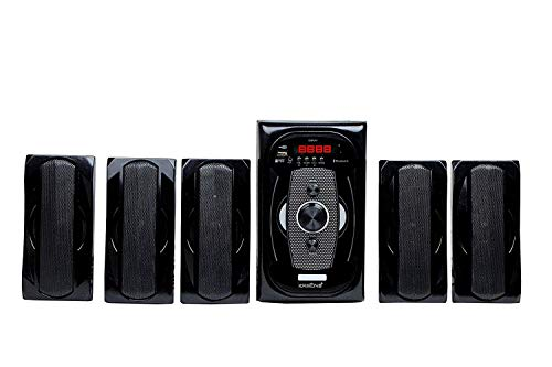 """Krisons Fusion (5.25"""" WOOFER) 5.1 Bluetooth Home Theater."""