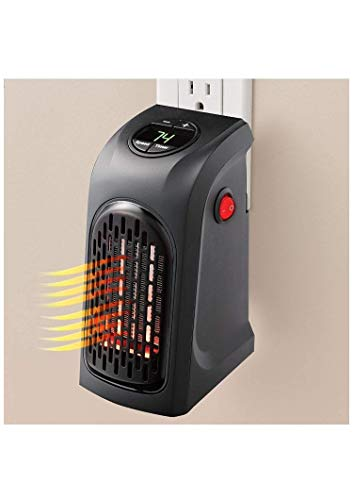laxmi Enterprise Small Electric Handy Room Heater Compact Plug-in||The Wall Outlet Space Heater 400Watts Garage Bathroom Home||Handy Air Warmer Blower