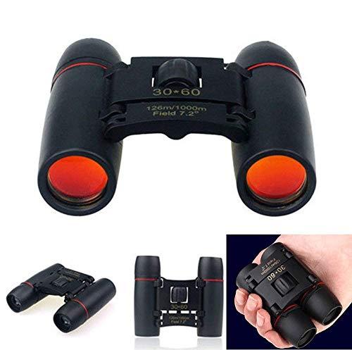 Jiya Chhogli Portable Compact Mini Pocket 30X60 Binoculars Telescope For Camping Travel Concerts Outdoors