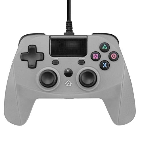 New World PS4 Wired Controlle Gamepad Joystick for PS4 Playstation 4 Dual Vibration Shock for PS4/PS4 Slim/PS4 Pro and PC with touchpad Six-axis Cable length 3 meters