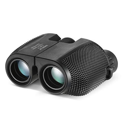 Anself 10x25 Compact Binocular High Powered Outdoor Sports Binocular Telescope Pocket Scope for Birdwatching Concert Travel Kids Gift