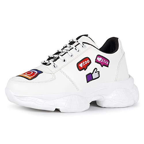 FASHIMO Casual Shoes for Women's White