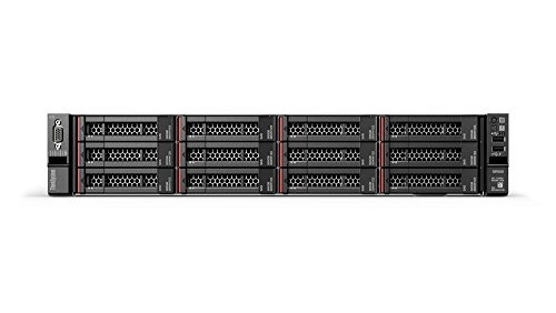 "Lenovo ThinkSystem SR550 2U Rack Server, Intel Xeon 4210 (2nd Gen, 10Core) with 16GB RAM & 1.2TB 10K SAS Hard Disk with 3.5"" Carrier, 3 Year Warranty by Lenovo."