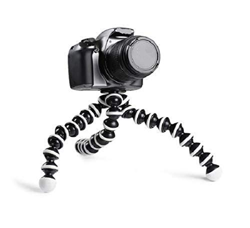 Cabriza LIP147 Mini Light Weight Gorilla Tripod with Flexible Legs Easy to Carry for Multi Purpose Compatible with All Devices [Multi Color]