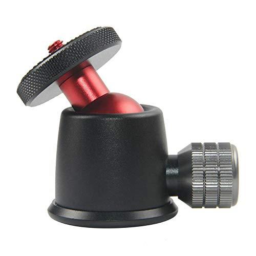 ELECTROPRIME Tripod Mini Ball Head Tripod Mount Head-Metal Ballhead 360 Degree Pan 90 De J8T2