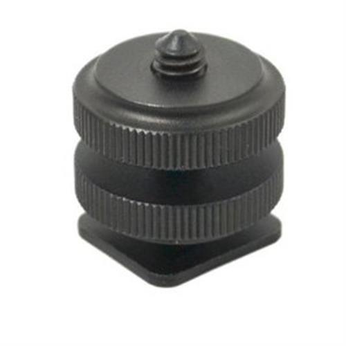 JJC MSA3 Shoe-to-Tripod Screw Adapter (Black)