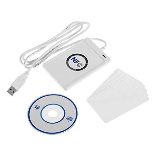 Kebidu Nfc Acr122U Rfid Contactless Smart Reader & Writer/Usb + 5X Ic Card