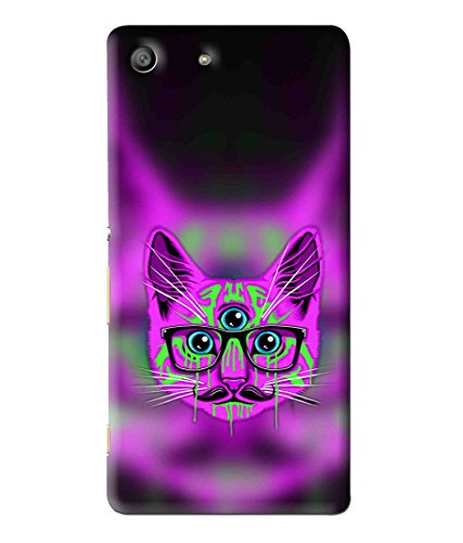 Snooky Printed Mobile Back Cover of Sony Xperia M5 - Multi