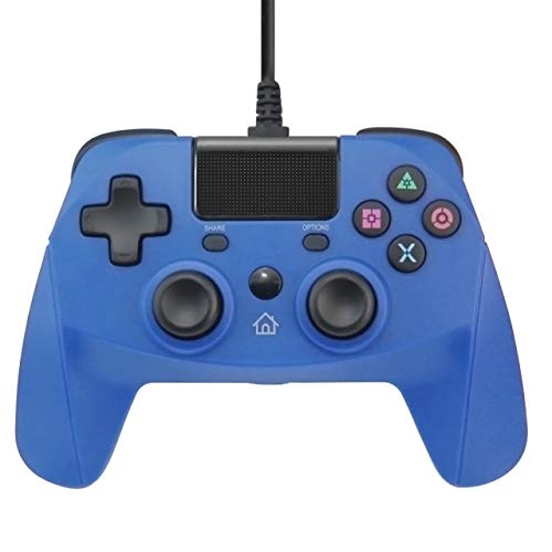 New World PS4 Wired Controller Gamepad Joystick for PS4 Fat PS4 Slim PS4 PS4 Pro and PC with touchpad Six-axis Cable length 3 meters
