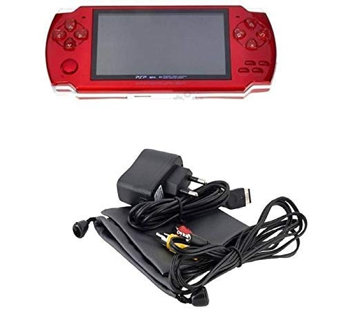 NEXTTECH Grand Classic PSP MP4 Player With Built-In 4GB Memory with 10000 GAMES RED