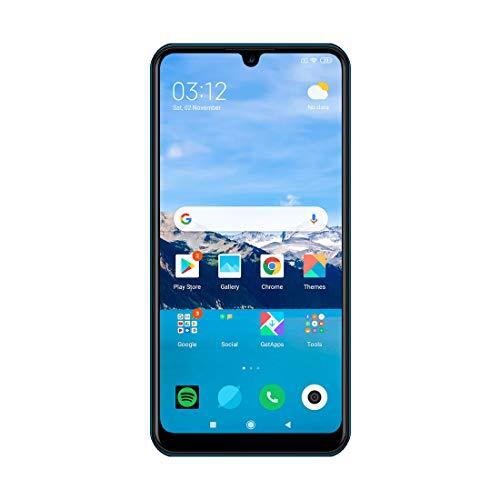 IKall K6 Smartphone (6.26 inch Water Drop Display, 32GB, Dual Sim 4G Volte) (Blue)