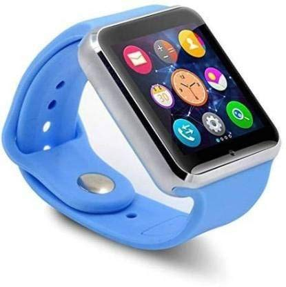 A1 Bluetooth Health and Activity Tracker Smart Watch (Blue ) Smartwatch by Crystal Digital