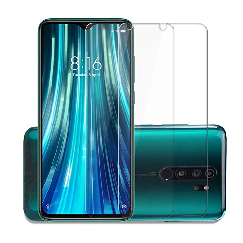 Mobile Accessories Planet Supertech 9H Strong hardness premium Tempered Glass Screen Protector for Mi Redmi 8A / Mi Redmi 7 / Mi Redmi Y3 / Mi Redmi Note 7 / Mi Redmi Note 7 Pro / Mi Redmi Note 7S (Transparent) [Pack of 2]
