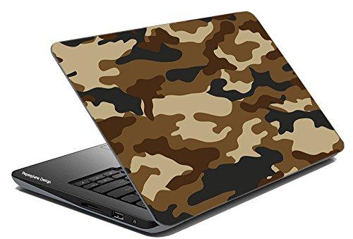 Paper Plane Design Military Print Laptop Skin 15 inch x 10 inch