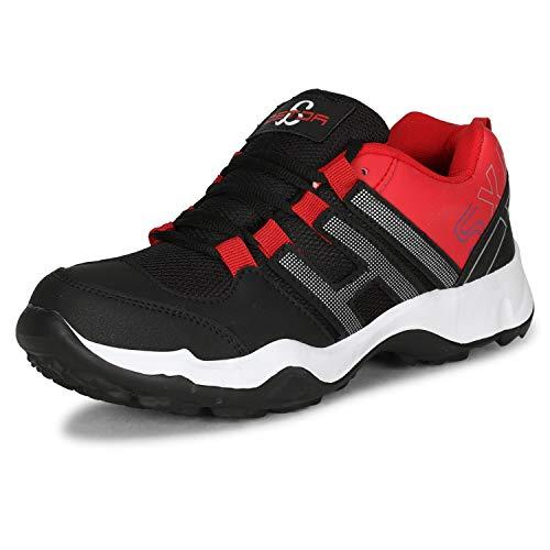 Acteo Men's Red Footwear-8 UK (42 EU) (AC1036-Red)