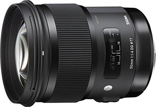 Sigma 50mm F1.4 DG HSM Art Lens for Nikon Cameras