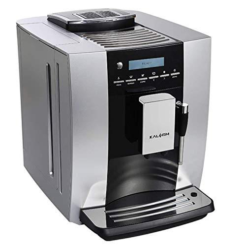 Kalerm KLM1603 Fully Automatic Milk Coffee Machine with steam Wand (220V, 1400W)