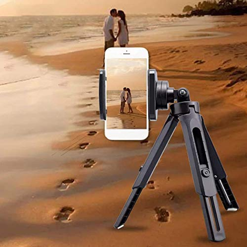 "Finate Portable and Adjustable Mini Flexible Smartphone Mobile Tripod Stand 1/4"" Ball Head for Camera Mobile Phone"