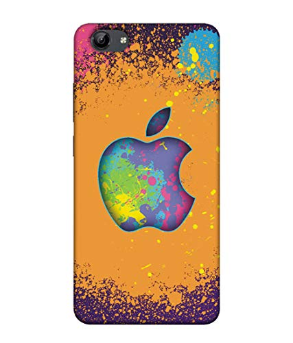S SMARTY Colourful Apple Printed Hard Case Mobile Back Cover for Vivo Y71