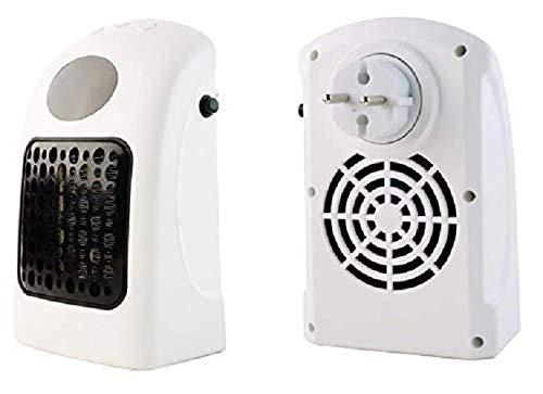 QAWACHH® Winter Warmer Mini Handy Electric Heater 900 watt for Home Office (White Colour)