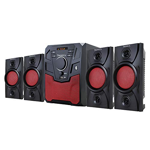TRONICA New Republic 4.1 Home Theater System with Bluetooth/SD Card/Pen Drive/FM/AUX Support & Remote