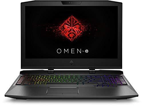 HP OMEN X-ap045TX 17-inch FHD Gaming Laptop (Intel Core i7-7820HK/16GB/1TB HDD+512GB SSD/GTX 1070 8 GB GDDR5 Graphics/G-SYNC/VR Ready/Windows 10), Shadow Black