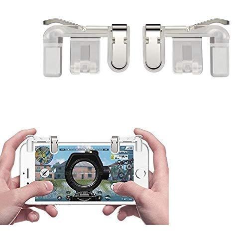 KH Enterprise PUBG Phone Gamepad Metal Trigger Fire Button Aim Key Smart Phone Mobile Games L1R1 Shooter Controller-01