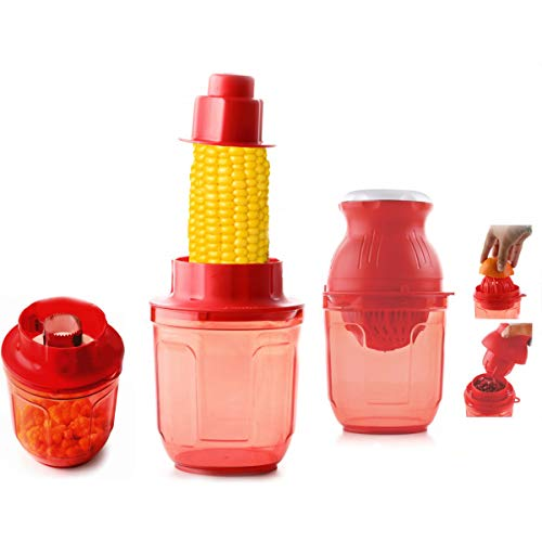 Apex Juicer with Corn Cutter with Unbreakable Material, Plastic Hand Juicer & Corn Cutter (Multi)