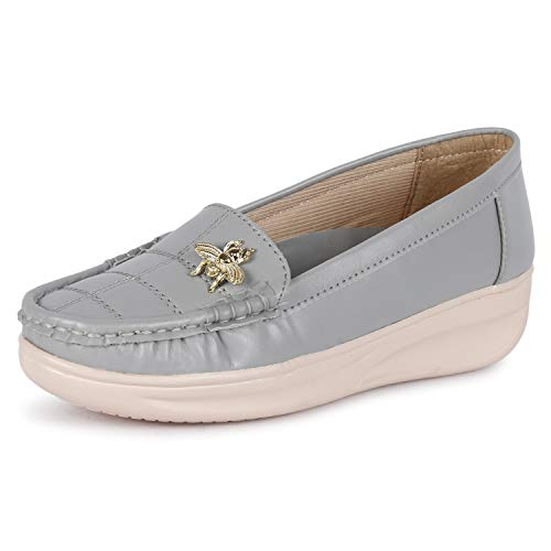 FASHIMO Latest Collaction of Slip-On Bellies for Women's and Girls Grey