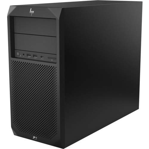 HP Z2 Tower Workstation, Intel Core i7-8700, 8GB RAM, Windows 10 Pro, 1TB SATA Hard Disk, Int UHD 630 Core Graphics,9.5 DVDWR 1st ODD,3 Years Warranty by HP