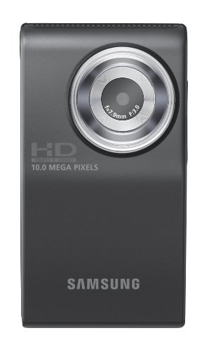 Samsung HMX-U10 Ultra-Compact Full-HD Camcorder with 10 MP Still (Black) (Discontinued by Manufacturer)