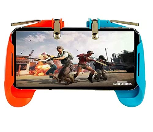 """(AK-16 Pubg Remote Controller Gamepad Alloy Metal Triggers L1 R1 Shooting Aim Button Handle Joystick Compatible with All Smartphones Upto 6.5"""" inch) by King Shine"""