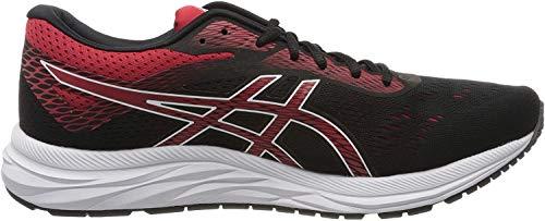 ASICS Men's Black/Speed Red Running Shoes-11 UK (46.5 EU) (12 US) (1011A165)