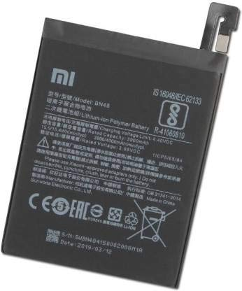 NMRA Enterprises National Mobile Related Accessories NMRA Mobile Battery Compatible for Redmi Note 6 Pro