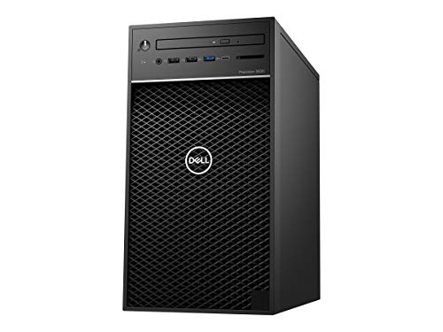 Dell Precision 3630 - Desktop Workstation with Intel Core i7-8700,16 GB RAM,1TB SATA,256 GB SSD, 3Years Warranty