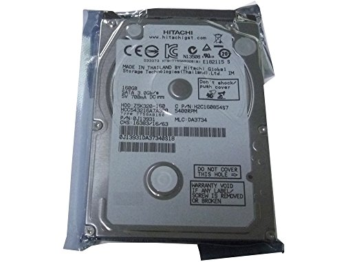 Hitachi 160GB 5400RPM 8MB Cache SATA 3.0Gb s 2.5 Laptop Hard Drive for DELL ASUS IBM Lenovo HP Compaq Toshiba Sony Notebook